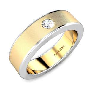 Ronald Diamond Wedding Ring For Him