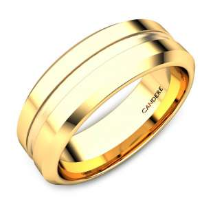Bill Gold Wedding Band For Him