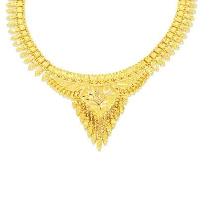250 gold necklaces designs buy gold necklaces price rs 30800 visola nivara gold necklace aloadofball Images